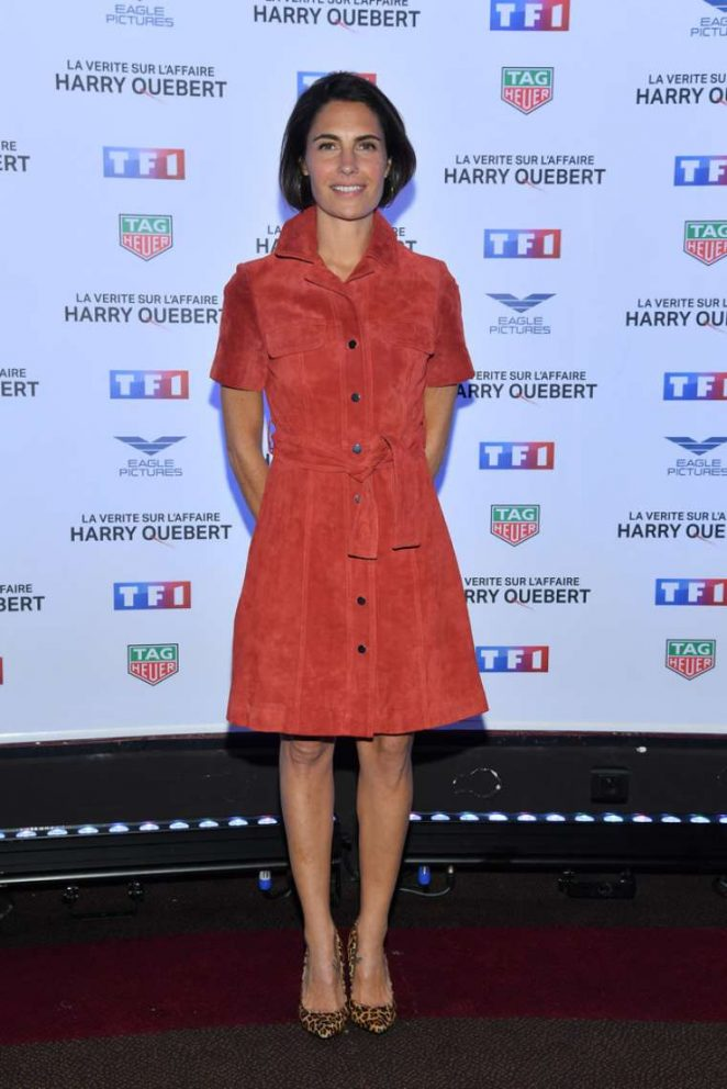 Alessandra Sublet - 'The Truth About The Harry Quebert Affair' Premiere in Paris