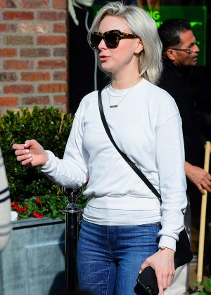 Alessandra Torresani in Jeans Out Shopping in Los Angeles