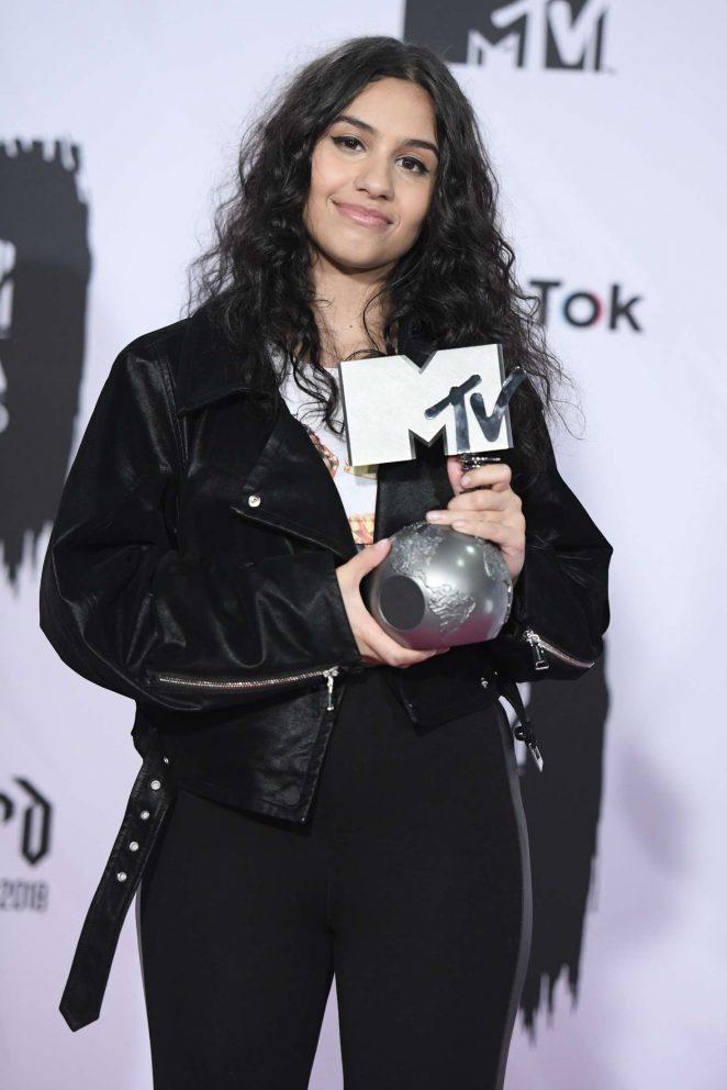 Alessia Cara – 2018 MTV Europe Music Awards in Bilbao