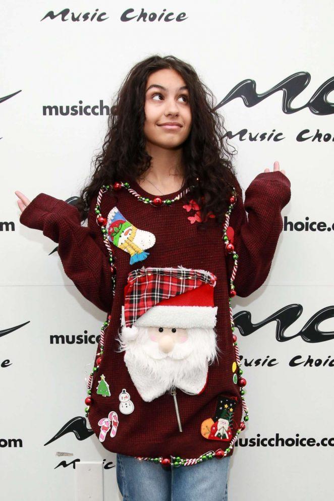 Alessia Cara at Music Choice in New York City