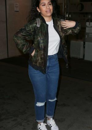 Alessia Cara - Leaving BBC Radio One Studios in London