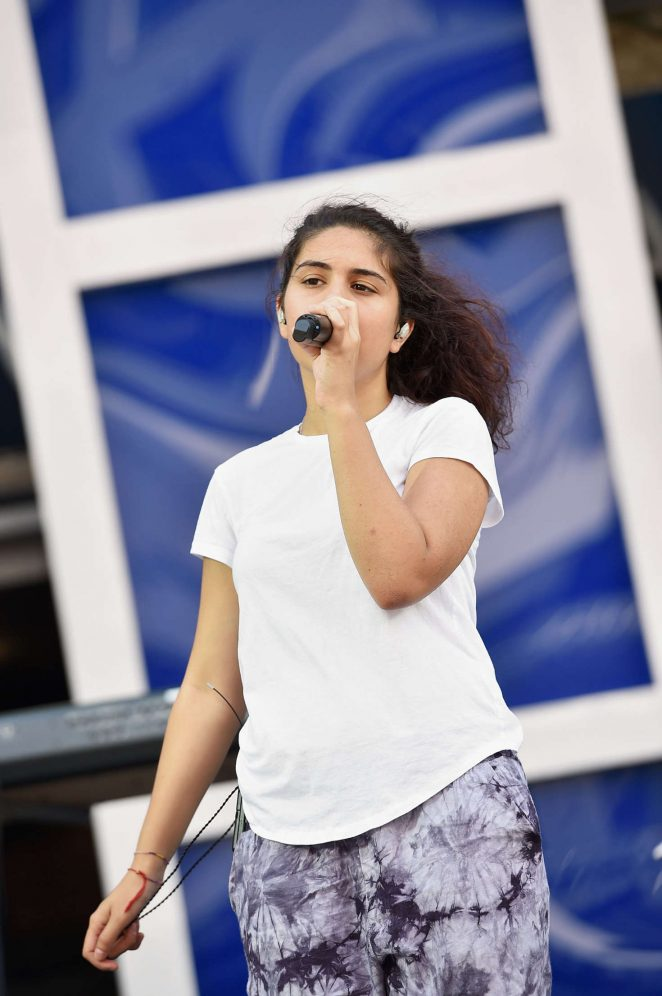 Alessia Cara - MTV Video Music Awards Rehearsals in New York City