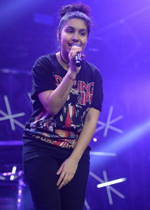 Alessia Cara - Performs at I Heart Radio Y-100 Jingle Ball in Sunrise