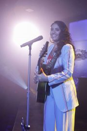 Alessia Cara - Performs on Jimmy Kimmel Live! in Los Angeles