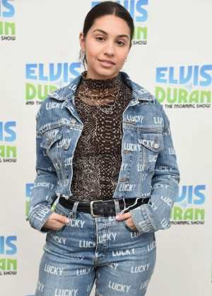 Alessia Cara – 'The Elvis Duran Z100 Morning Show' in NYC