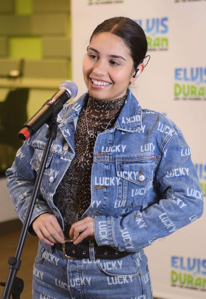 Alessia Cara 2019 : Alessia Cara: The Elvis Duran Z100 Morning Show -08