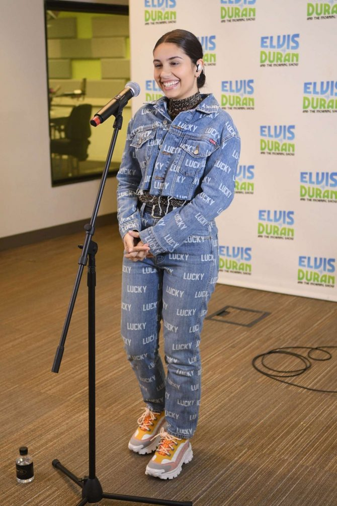 Alessia Cara 2019 : Alessia Cara: The Elvis Duran Z100 Morning Show -11