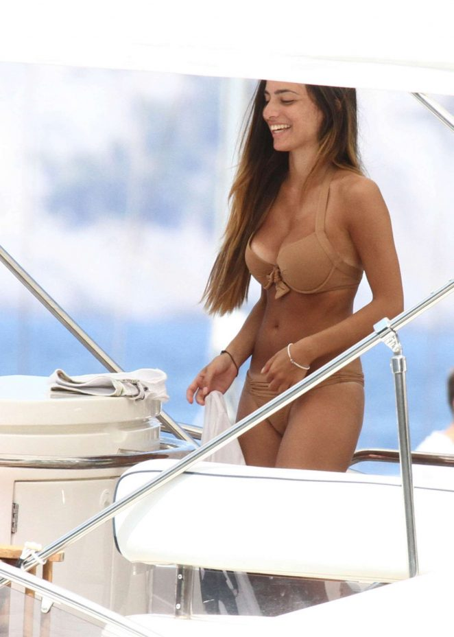 Alessia Elefante in Bikini in Portofino