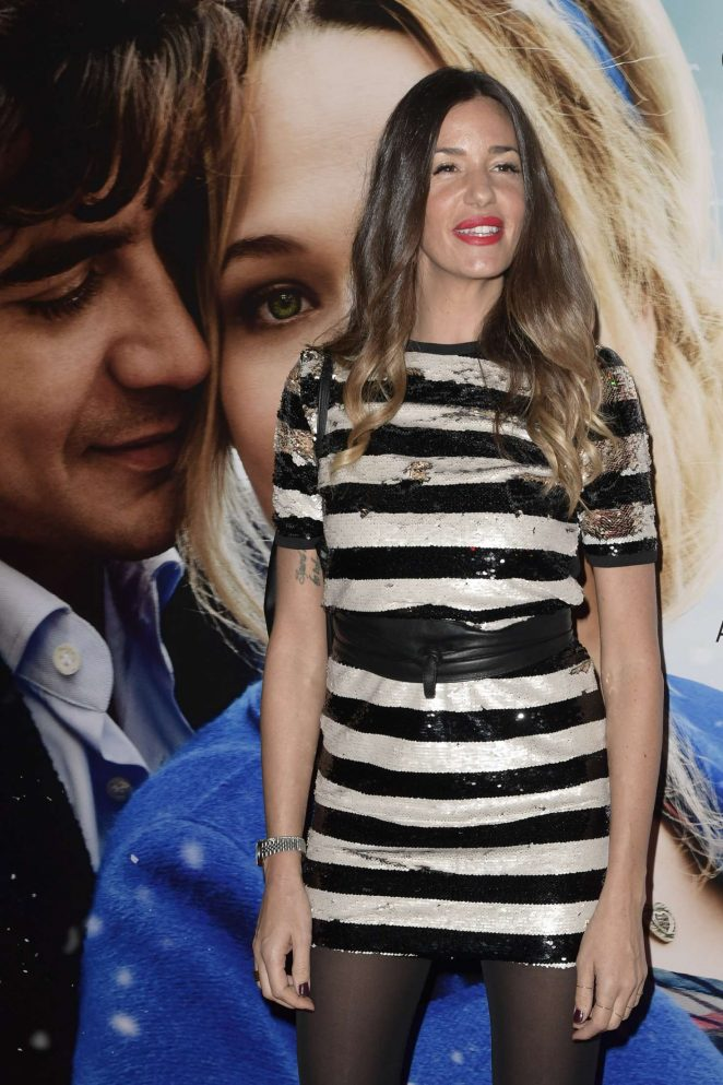 Alessia Fabiani - 'La Cena Di Natale' Premiere in Rome