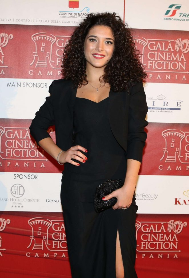 Alessia Lamoglia - 2018 Gala of Cinema and Fiction in Campania