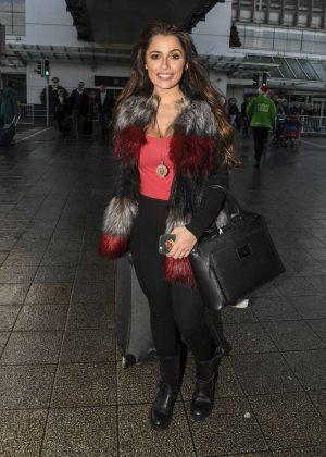 Alessia Macari out in Dublin