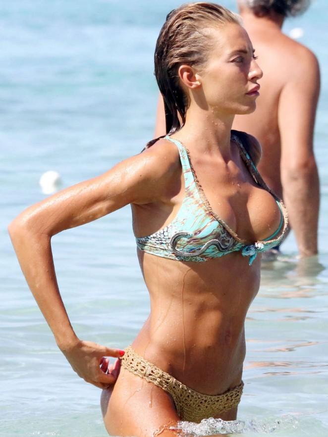 Alessia Tedeschi in Bikini in Formentera