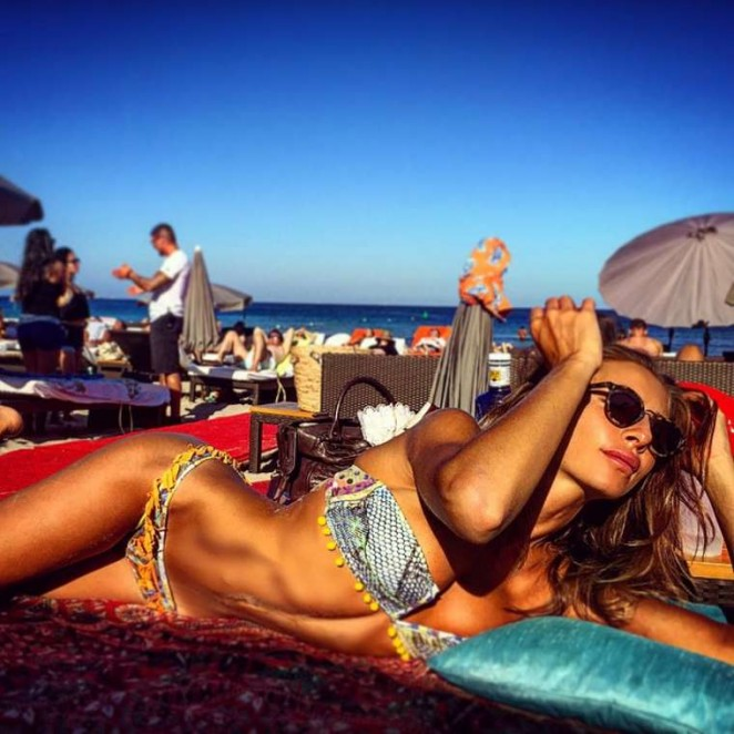 Alessia Tedeschi in Bikini - Instagram