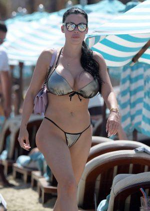 Aletta Ocean in Bikini on holiday in Mykonos