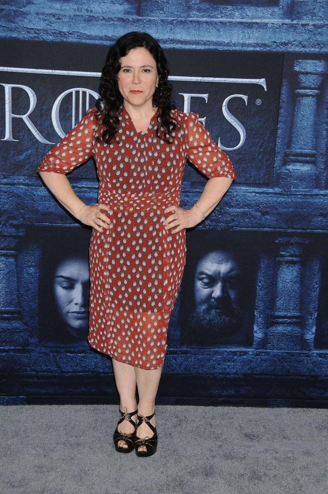 Alex Borstein - 'Game of Thrones' Season 6 Premiere in Hollywood