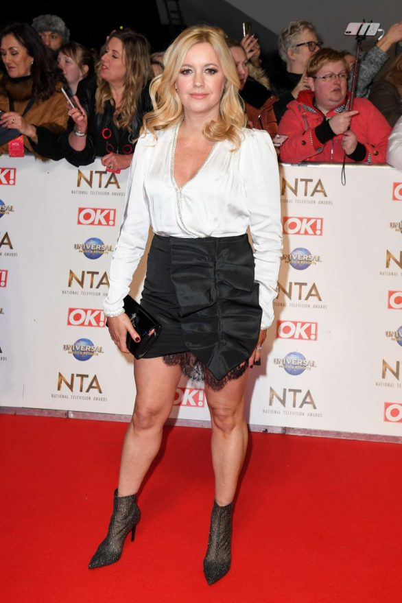 Alex Fletcher - National Television Awards 2020 in London