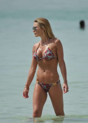 Alex Gerrard in Bikini in Dubai