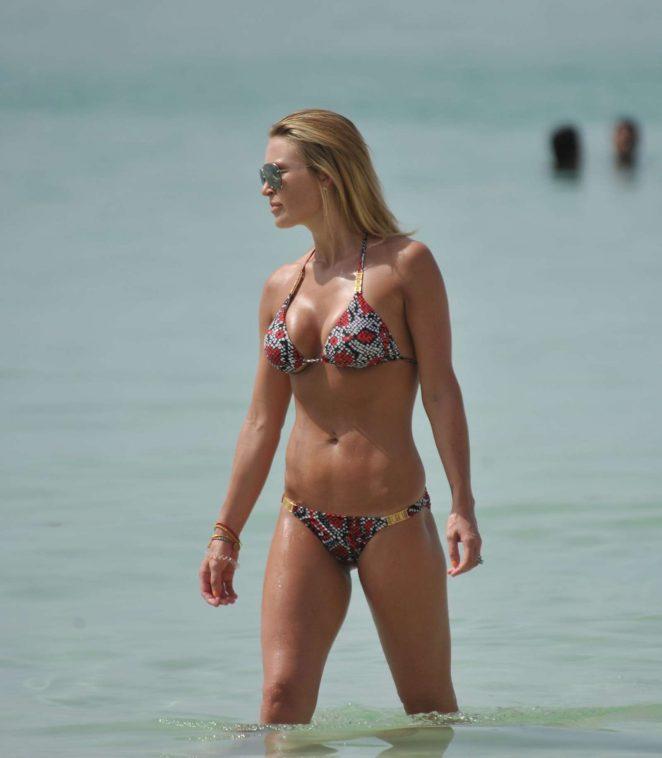 Alex Gerrard – Bikini Candids in Dubai