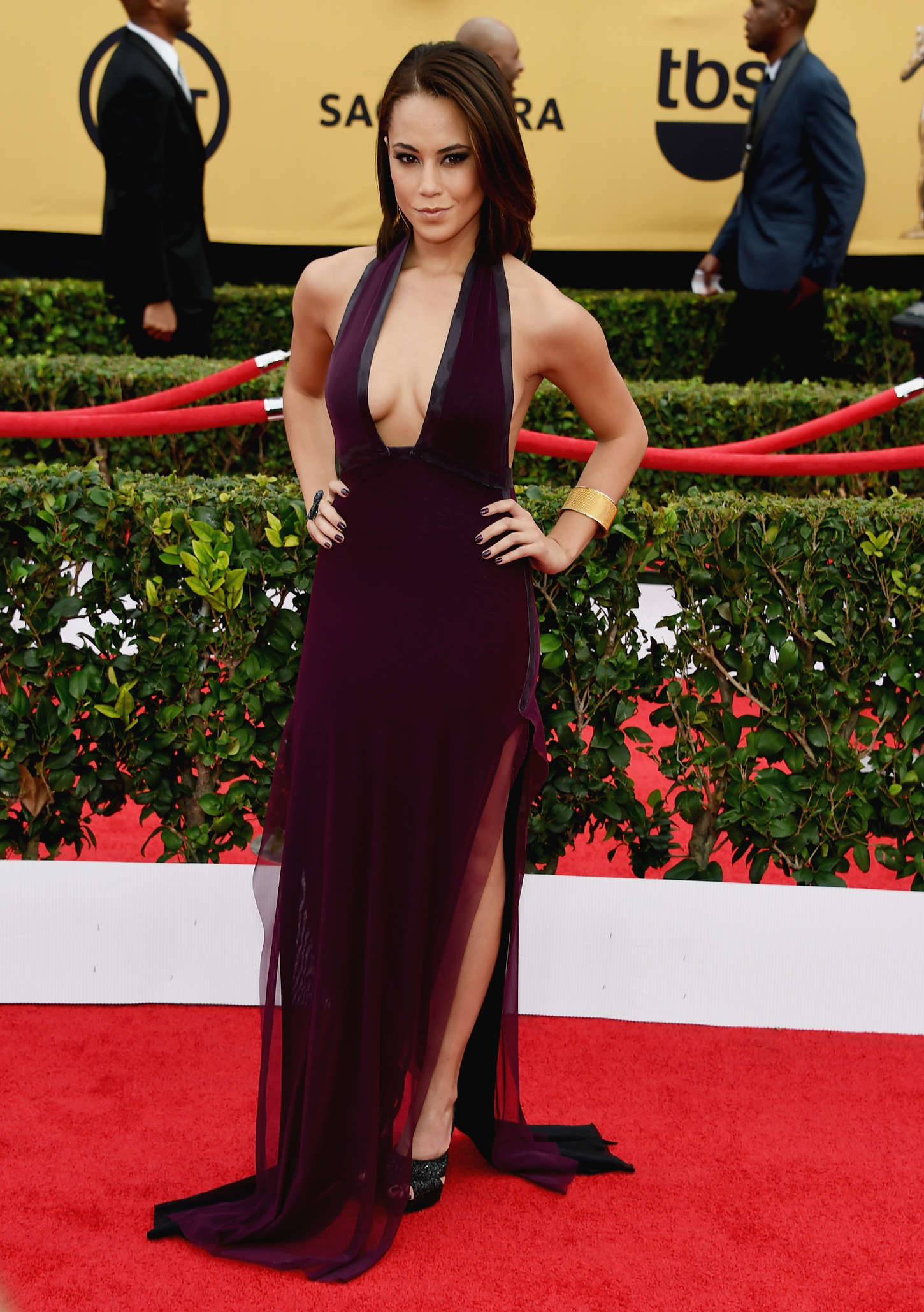 Alex Hudgens 2015 : Alex Hudgens: 2015 SAG Awards -01