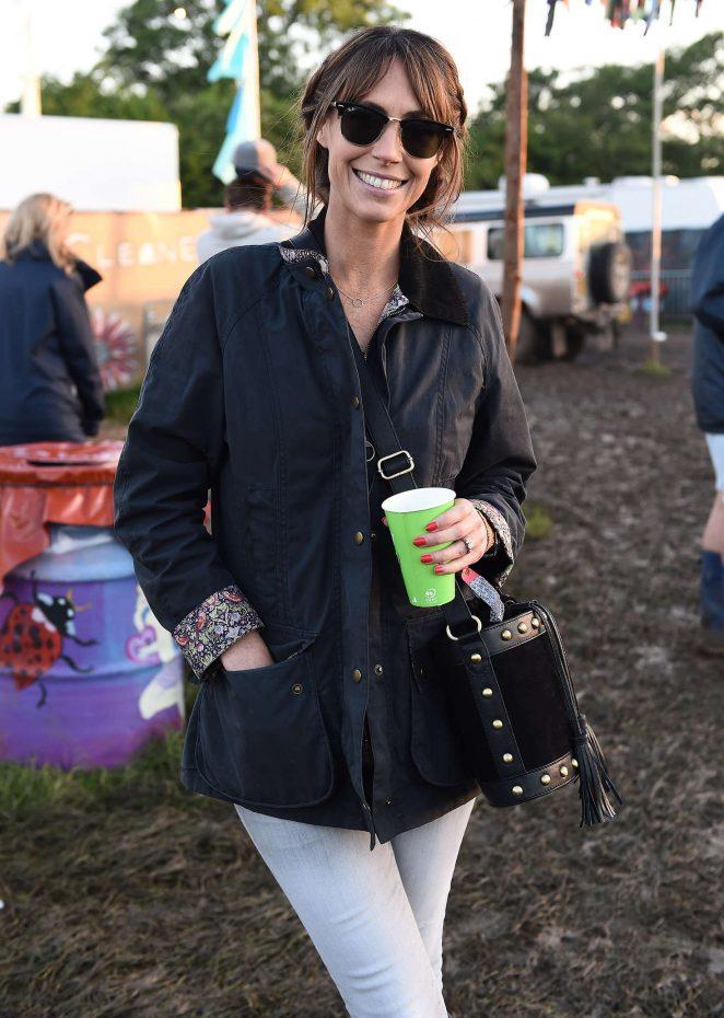 Alex Jones - 2016 Glastonbury Festival in England