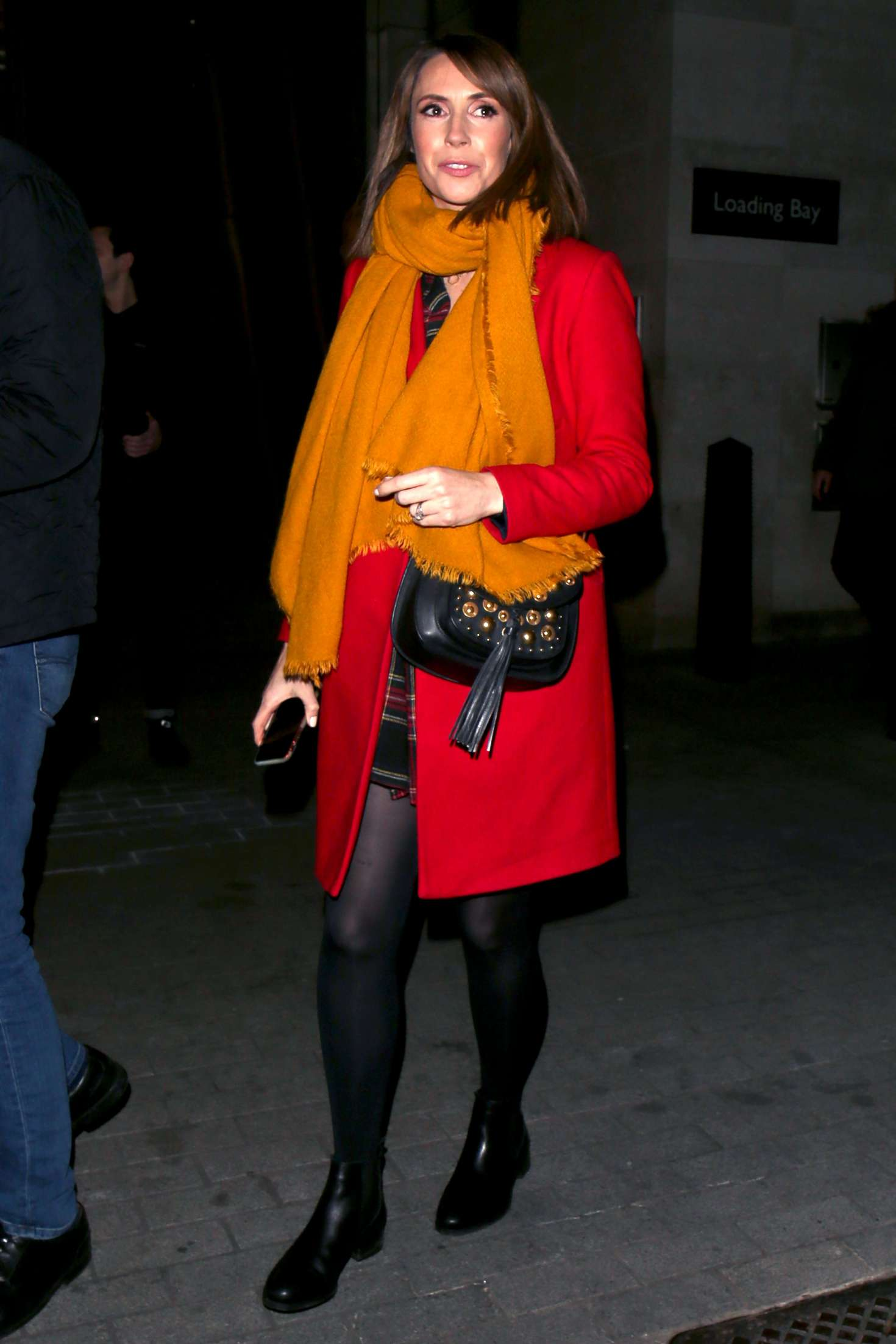 Alex Jones - Leaving BBC's The One Show in London