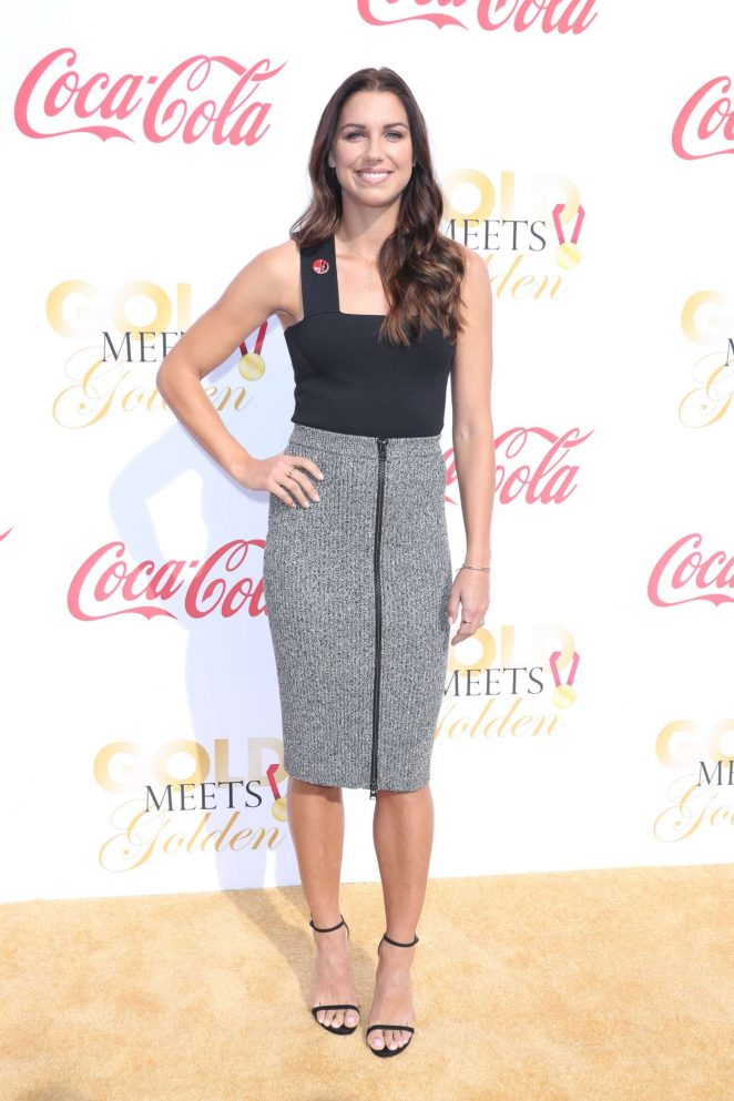 Alex Morgan – 5th Annual Gold Meets Golden in Los Angeles
