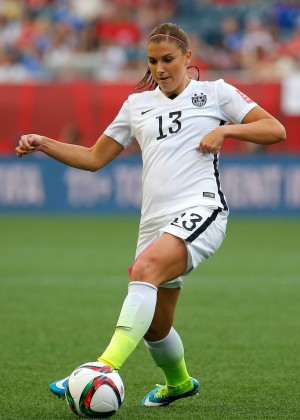 Alex Morgan - FIFA Women's World Cup 2015 Group D Match in Winnipeg