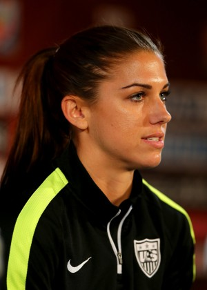 Alex Morgan - FIFA Women's World Cup 2015 News Conference in Montreal
