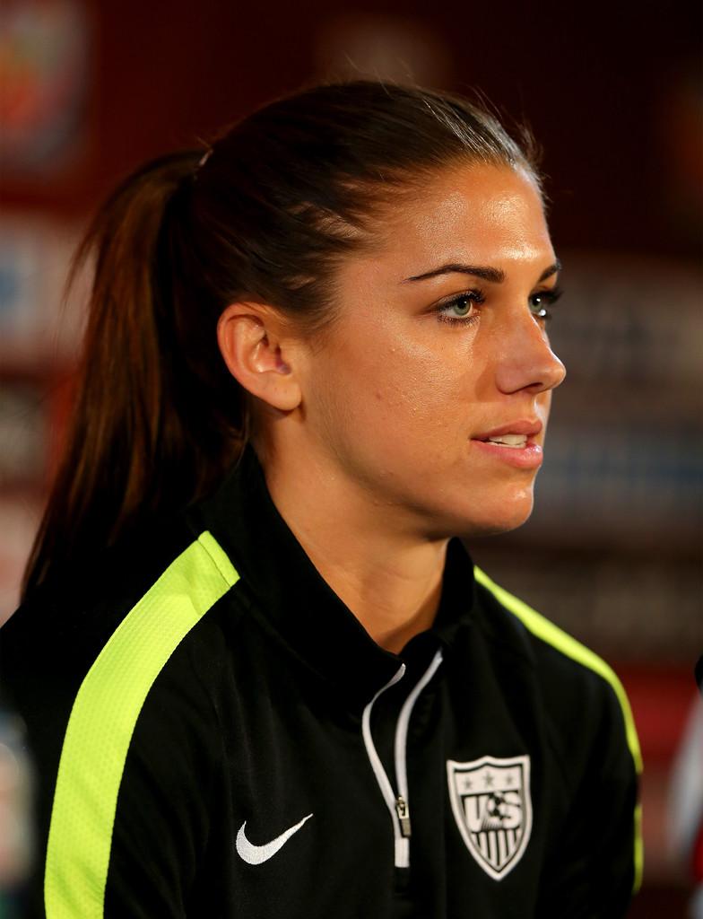 Alex Morgan - FIFA Women's World Cup 2015 News Conference ...