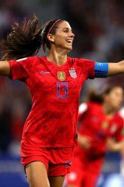 Alex Morgan - FIFA World Cup USA vs England in Lyon