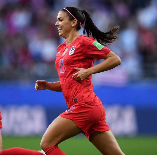 Alex Morgan - FIFA World Cup USA vs Thailand in Reims