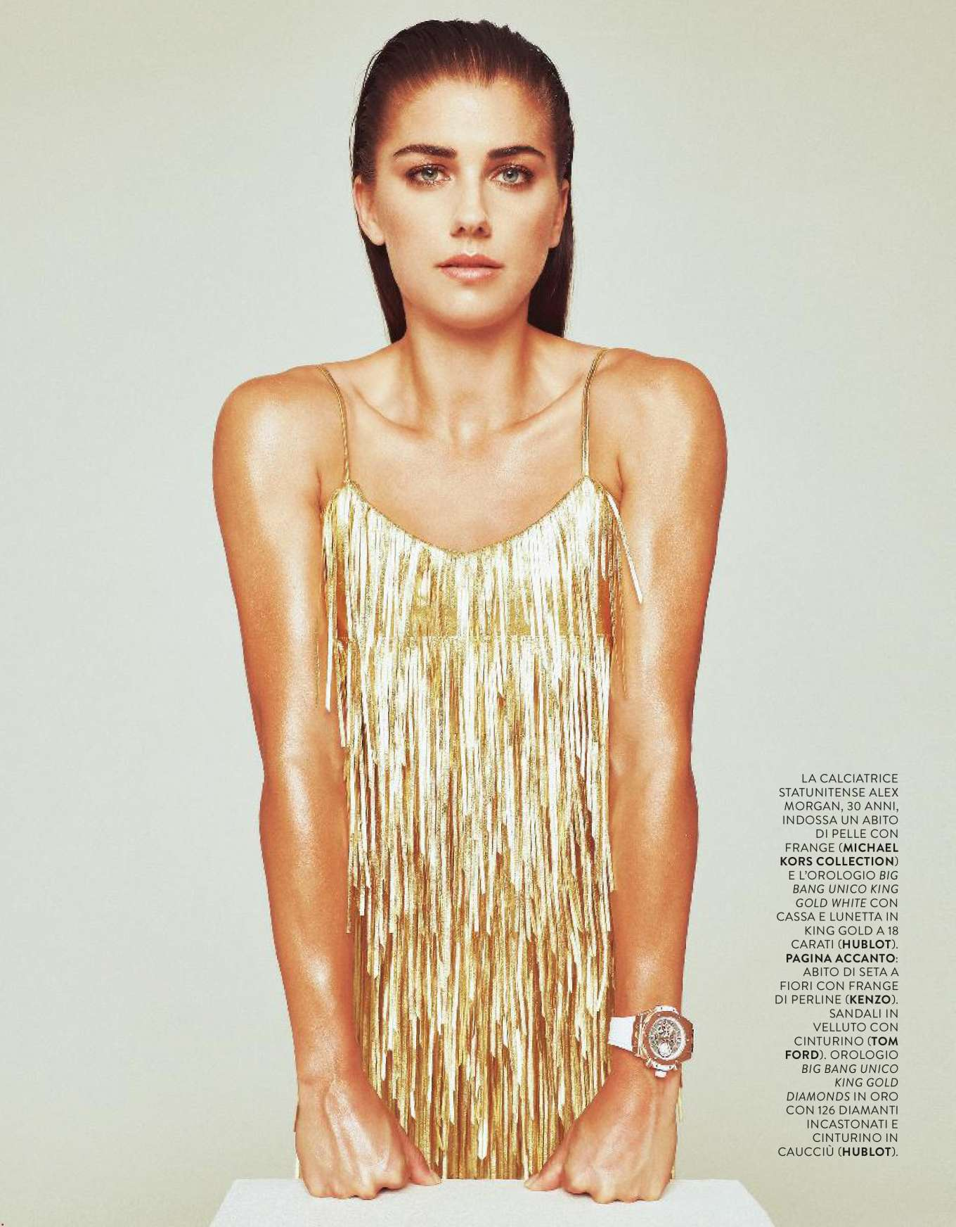 Alex Morgan - Grazia Italy Magazine (October 2019)
