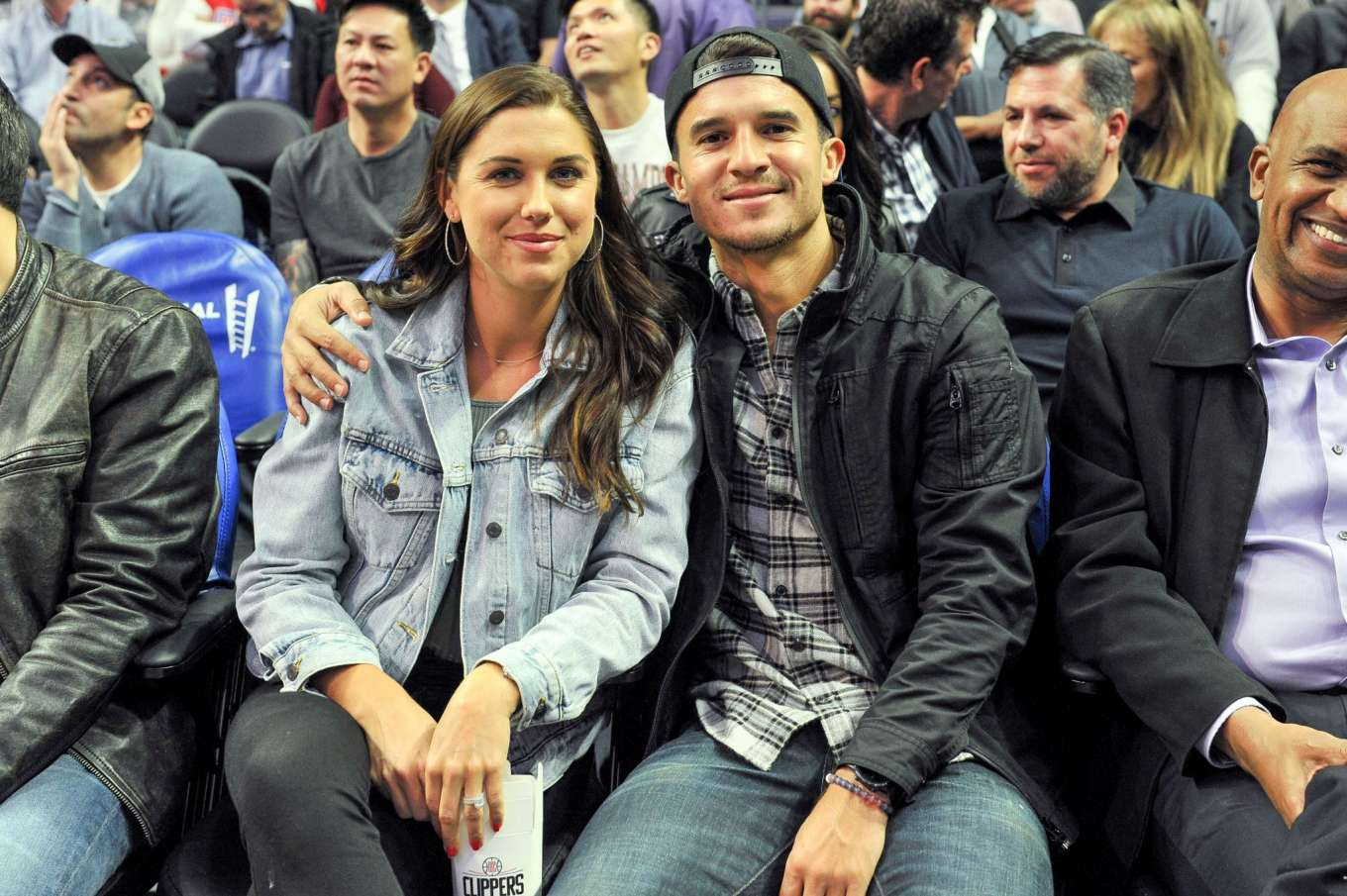Alex Morgan - Phoenix Suns vs Los Angeles Clippers at Staples Center in Los Angeles