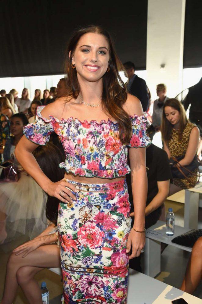 Alex Morgan - Tadashi Shoji Fashion Show in NYC