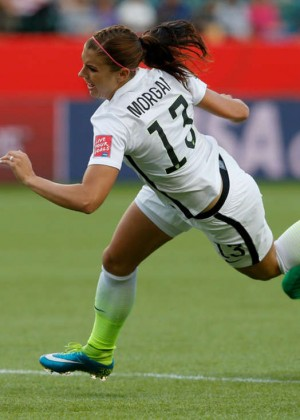 Alex Morgan - United States v Colombia FIFA Women's World Cup 2015 in Edmonton