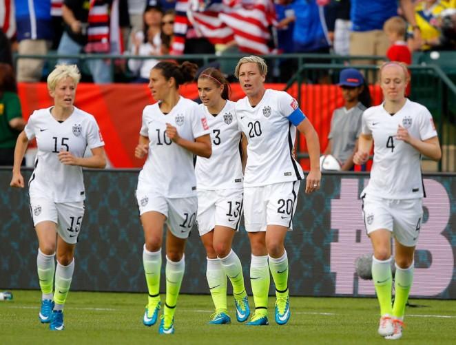 Alex Morgan United States V Colombia Fifa Womens World Cup 2017 08
