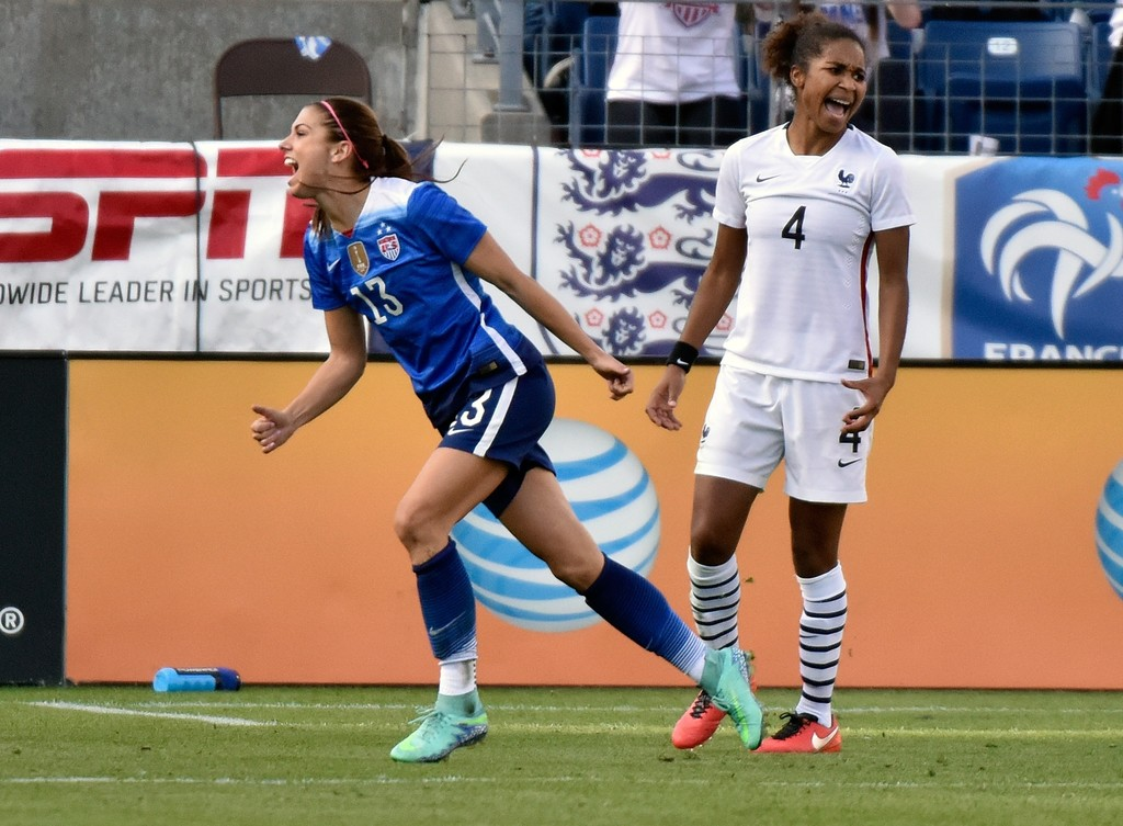 Alex Morgan 2016 : Alex Morgan: US vs France SheBelieves Cup 2016 -01