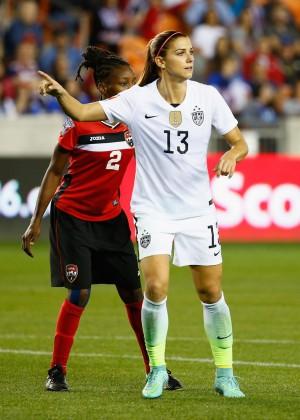 Alex Morgan - 'US vs Trinidad and Tobago' 2016 CONCACAF Women's Olympic Qualifying in Houston