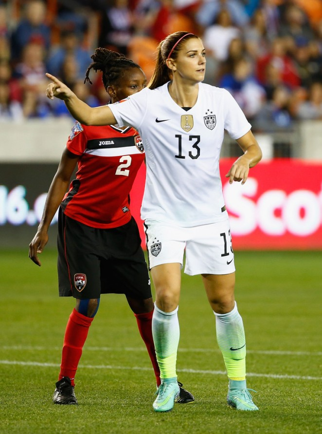 Alex Morgan - 'US vs Trinidad and Tobago' 2016 CONCACAF Women's Olympic Qualifying in Houston