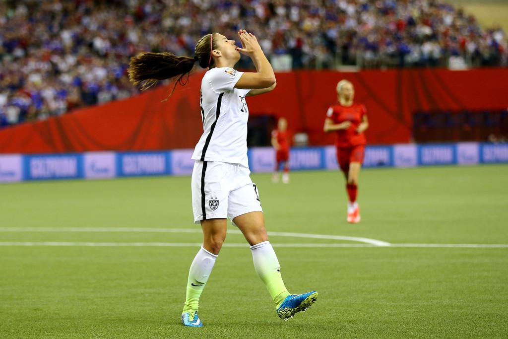 Alex Morgan USA V Germany FIFA Womens World Cup 2015 16