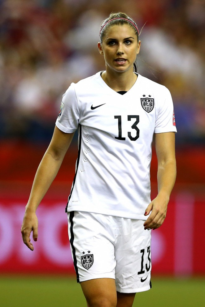 Alex Morgan - USA v Germany FIFA Women's World Cup 2015 Semi-Final in Montreal