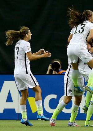 Alex Morgan - USA v Germany FIFA Women's World Cup 2015 ...