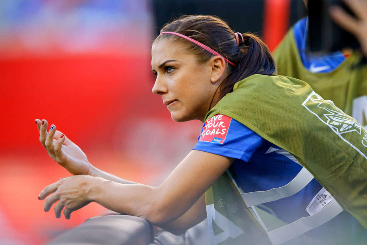 Alex Morgan - USA v Sweden FIFA Women's World Cup 2015 in Montreal