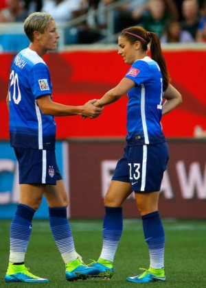 Alex Morgan - USA v Sweden: Group D - FIFA Women's World Cup 2015 in Winnipeg