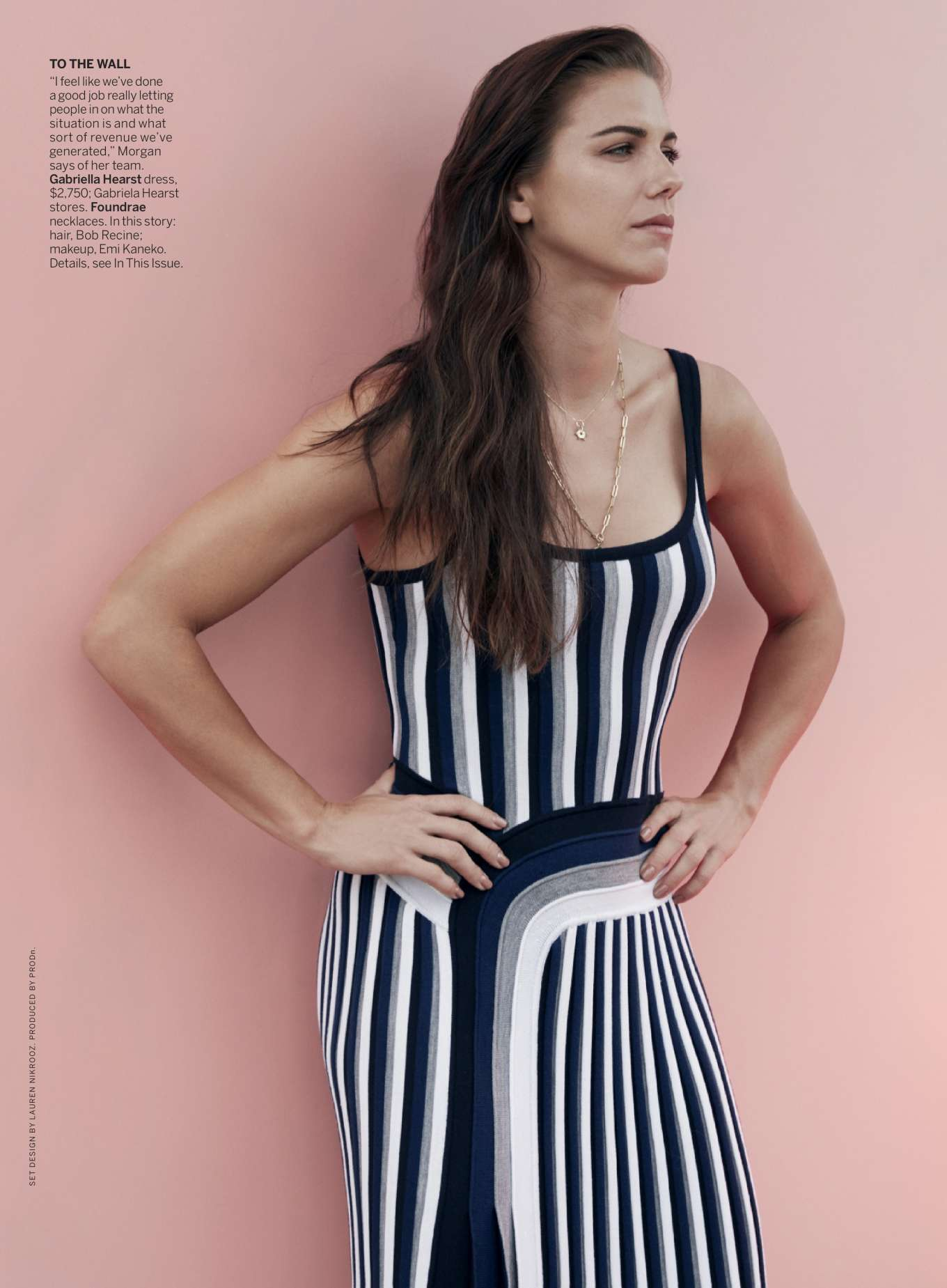 Alex Morgan - Vogue US Magazine (October 2019)