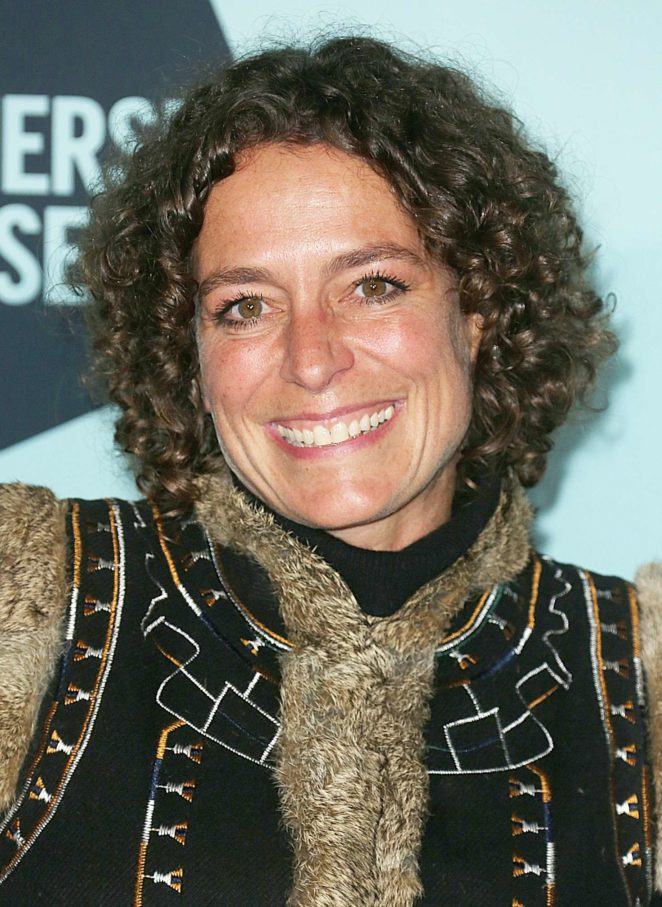 Alex Polizzi - Skate at Somerset House Lunch Party in London