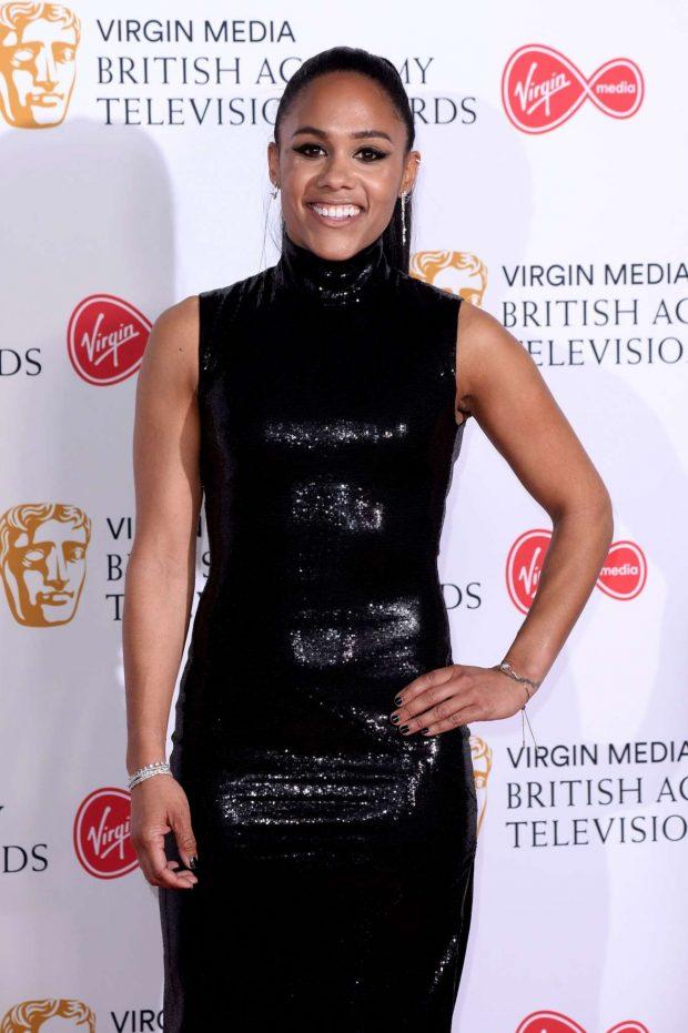 Alex Scott - BAFTA Television Awards 2019 in London