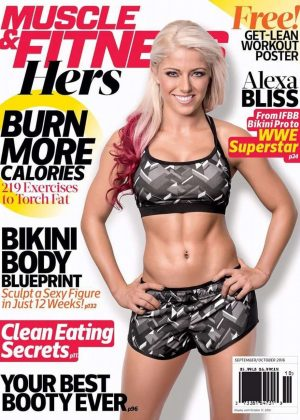 Alexa Bliss - Muscle and Fitness Hers Cover (September/October 2016)