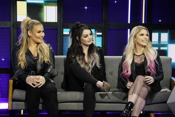 Alexa Bliss, Paige and Natalya Neidhart - A Little Late with Lilly Singh