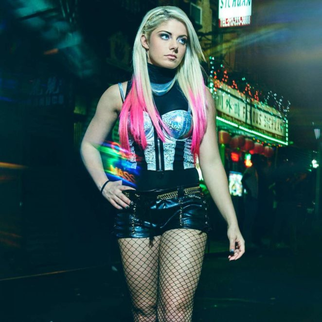 Alexa Bliss - Photoshoot  for WWE New York City 2017